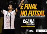 Futsal Adulto: Ceará e Eusébio fazem a primeira partida da final do Campeonato Cearense