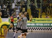 Futsal Adulto: Ceará goleia o Eusébio e avança para as quartas-de-final do segundo turno no estadual