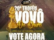 Está aberta a votação para a vigésima edição do Premio Vovô de Ouro