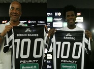 Sérgio Soares e Sandro recebem homenagens