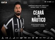 Série B: Ceará e Náutico se enfrentam no Estádio Presidente Vargas
