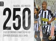 Clássico-Rei ficará marcado para João Marcos, que fará 250 jogos pelo Vovô