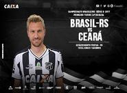 Pela Série B, Ceará e Brasil de Pelotas se enfrentam hoje no Bento Freitas
