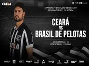 Série B: Ceará e Brasil de Pelotas se enfrentam hoje na Arena Castelão