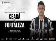 Fares Lopes: Em jogo de volta das quartas-de-final, Ceará enfrenta o Fortaleza na Arena Castelão