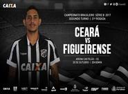 Série B: Ceará e Figueirense se enfrentam hoje na Arena Castelão