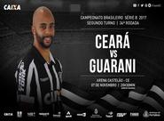 Série B: Ceará e Guarani enfrentam hoje na Arena Castelão