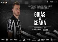 """No Serra Dourada, Ceará tem """"decisão"""" contra o Goiás pela Série B"""