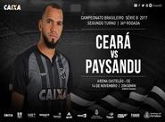 Série B: Ceará e Paysandu se enfrentam hoje na Arena Castelão