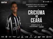Série B: Ceará e Criciúma se enfrentam hoje no Estádio Heriberto Hurse