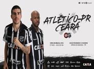 Copa do Brasil: Em jogo de ida, Ceará enfrenta o Atlético/PR na Arena da Baixada