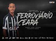 No Presidente Vargas, Ferroviário e Ceará se enfrentam pela 2ª fase do Campeonato Cearense