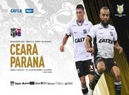 Com mais de 30 mil ingressos vendidos antecipadamente, Ceará recebe o Paraná no Castelão