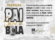 Ceará lança promoção 'Pai show de bola'