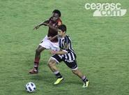 Em jogo disputado, Ceará empata com o Flamengo