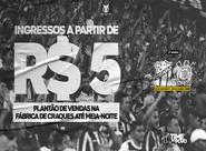 Ceará realiza plantão de vendas de ingressos para partida contra o Corinthians