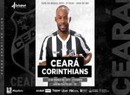 Com bom público na Arena, Ceará recebe o Corinthians em jogo de ida na Copa do Brasil