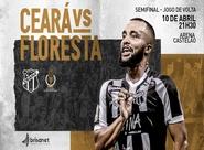Cearense: Ceará decide vaga para a final em partida de volta contra o Floresta