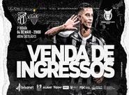 Ceará x Atlético/MG:  Confira as informações sobre a venda de  ingressos