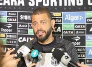 Visando confronto contra o Vitória, Ceará realiza treino fechado na Arena Castelão