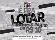 É pra lotar! Com preços a partir de R$10,00 reais, venda de ingressos para Ceará e Paraná inicia nessa sexta-feira