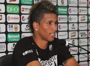 Mineiro, Alan Pinheiro e Renan Luís foram apresentados à imprensa