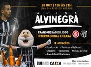Ceará promove 1ª Arena Alvinegra