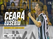 Futsal Adulto: Em busca do 1º lugar, Ceará recebe Eusébio, no último jogo da primeira fase do estadual