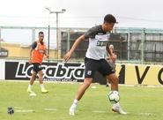 Ceará encerra preparação para a partida diante do Flamengo