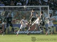 Ceará joga bem e vence o Palmeiras por 2 x 0, no estádio Presidente Vargas