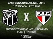 Venda de ingressos para Ceará x Ferroviário continua neste domingo