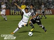 Confira os lances da partida entre Ceará 1 x 1 Figueirense
