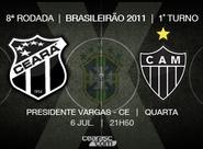 Continua a venda de ingressos para Ceará x Atlético/MG
