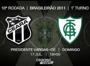 Continua venda de ingressos para Ceará x América/MG