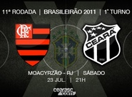 Vozão quer se manter invicto diante do Flamengo, em 2011