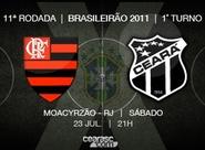 No Brasileirão, Ceará busca vitória inédita diante do Flamengo