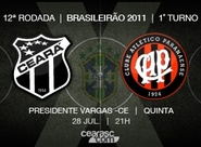 Continua venda de ingressos para Ceará x Atlético/PR