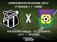 Começa hoje a venda de ingressos para Ceará x Crato