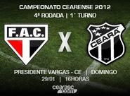 Começa amanhã a venda de ingressos para Ferroviário x Ceará