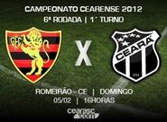 Ceará viaja para disputar a sexta rodada do Estadual 2012