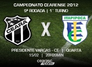 Iniciada a venda de ingressos para Ceará x Itapipoca