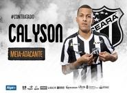 Ceará acerta contratação do meia Calyson até o fim do Brasileiro