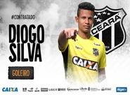 """Goleiro Diogo Silva chega para reforçar o Vovô: """"Venho para dar meu melhor para o Ceará"""""""