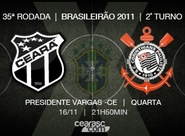 Venda de ingressos para Ceará x Corinthians continua nesta terça-feira