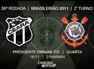 Ceará x Corinthians se enfrentam pela 13ª vez, no Brasileirão