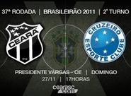 Venda de ingressos para Ceará x Cruzeiro começa amanhã