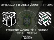 Diante do seu torcedor, Ceará encara o Figueirense