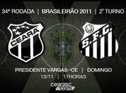 Continua a venda de ingressos para Ceará x Santos
