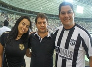 Sou Mais levou casal Alvinegro ao camarote da Arena Castelão