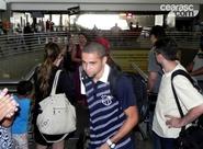 Torcida comparece e Ceará embarca para Salvador/BA